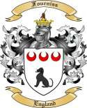 Fourniss Family Crest from England