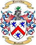Foursides Family Coat of Arms from Scotland