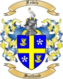 Fowle Family Coat of Arms from Scotland