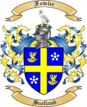 Fowler Family Crest from Scotland