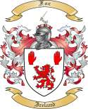 Fox Family Coat of Arms from Ireland