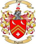Foyt Family Coat of Arms from England