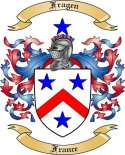 Fragen Family Coat of Arms from France