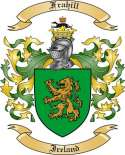 Frahill Family Crest from Ireland2