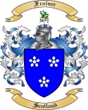 Fraiser Family Crest from Scotland