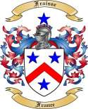 Fraisse Family Crest from France