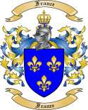 France Family Coat of Arms from France