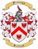 Franceys Family Crest from Scotland