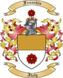 Franchis Family Crest from Italy