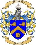 Francigena Family Coat of Arms from Scotland