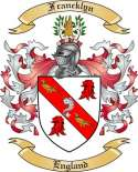 Francklyn Family Coat of Arms from England