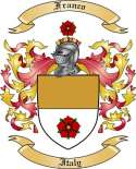 Franco Family Coat of Arms from Italy