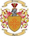 Franco Family Coat of Arms from Spain