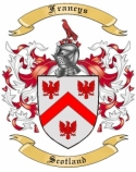 Francys Family Crest from Scotland