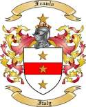 Fraulo Family Crest from Italy
