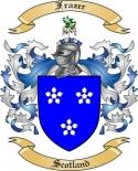 Frazer Family Crest from Scotland