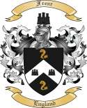 Frear Family Coat of Arms from England