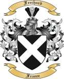 Frechard Family Crest from France