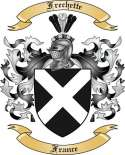 Frechette Family Crest from France