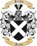 Frechin Family Coat of Arms from France