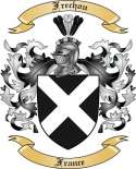Frechou Family Coat of Arms from France