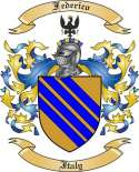 Frederico Family Coat of Arms from Italy