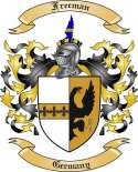 Freeman Family Coat of Arms from Germany