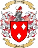 Freeman Family Coat of Arms from Ireland