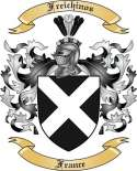 Freichinos Family Crest from France