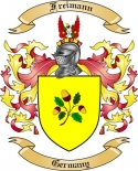 Freimann Family Crest from Germany