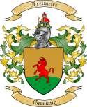 Freimeier Family Crest from Germany
