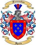 Frenandoz Family Crest from Spain