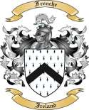 Frenche Family Crest from Ireland
