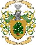 Fresco Family Crest from Spain