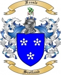 Fresle Family Crest from Scotland