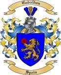 Gabaldon Family Coat of Arms from Spain