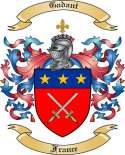 Gadant Family Coat of Arms from France2