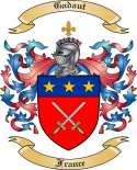 Gadaut Family Coat of Arms from France2