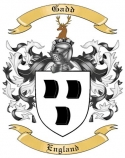 Gadd Family Coat of Arms from England
