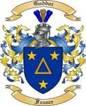 Gaddor Family Crest from France
