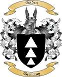 Gaden Family Crest from Germany