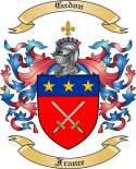 Gadon Family Coat of Arms from France2