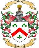 Gady Family Crest from Scotland