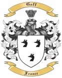 Gaff Family Coat of Arms from France