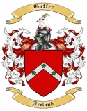 Gaffer Family Coat of Arms from Ireland