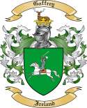 Gaffrey Family Crest from Ireland