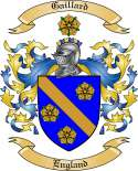 Gaillard Family Crest from England