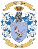 Gaillard Family Crest from France