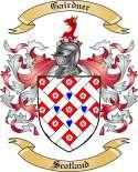 Gairdner Family Crest from Scotland