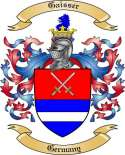 Gaisser Family Crest from Germany
